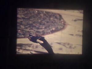 1960 Winter Olympics ~ original 35mm photo slide ~ Squaw Valley ski jumping #14