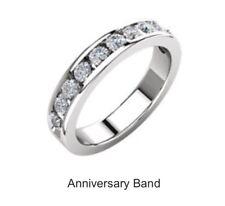 Genuine  Diamond Anniversary Band