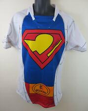 "Kukri Rugby 7s Union Superman Shirt Jersey Fancy Dress Super Hero Mens Large 42"""