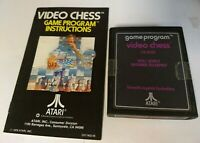 Atari 2600 Game - Video Chess with Instructions Manual CX-2645