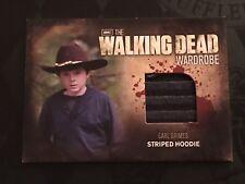 The Walking Dead Season 2 (Cryptozoic) Carl M18 Striped Hoodie Wardrobe Card