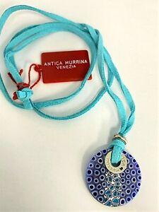 Antica Murrina Necklace Aster Blue