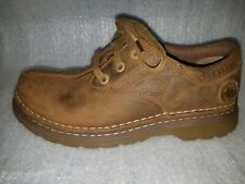 DOC DR MARTENS Nevin Lace Up Oxford Shoes Brown Leather Men's US 10