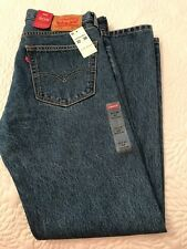 Men's 505 Levi's New Blue Jeans Regular SIZE 32/30 New with Tags