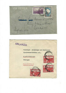 ARGENTINA-COVERS-(14)-OLDER--EXTERNAL USE--USED-FINE-NICE FRANKING-#ARG1