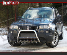 BMW X3 2003-2005 LOW BULL BAR WITH AXLE BARS + GRATIS!!! STAINLESS STEEL