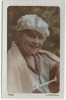 Vintage IVY TRESMAND Embossed photograph postcard c1915-25 Colourised Unposted