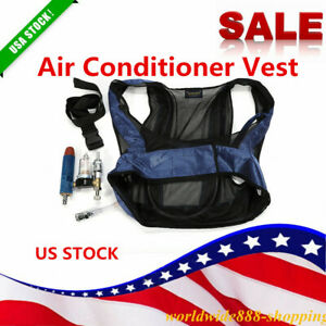 Air Conditioner Waistcoat Welding Air Compressed Cooling Vest Vortex Tube NEW