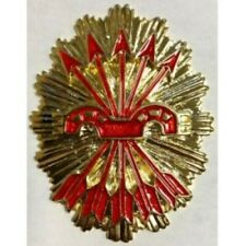 cartera porta placa con placa de Falange Española metal