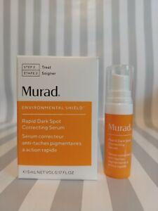 Murad Rapid Dark Spot Correcting Serum Trial/Travel .17oz/5ml NIB