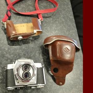 Agfa Color Flexilette 2 Augen Kleinbildkamera , Apotar 2,8/45 mm Ungetestet
