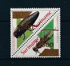 [SU1134] Suriname Surinam 2001 Beetles Overprint in gold triangles MNH