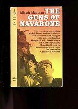 GUNS OF NAVARONE - Commandos in Med, Perman movie-tie-in  MacLean   US 3rd SB VG