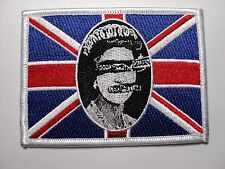 SEX PISTOLS  GOD SAVE THE QUEEN EMBROIDERED PATCH IRON OR SEW