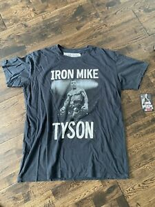 RARE ROOTS OF FIGHT IRON MIKE TYSON LARGE T SHIRT BNWT