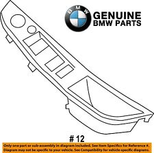 For BMW F10 5-Series Front Driver Left Door Switch Panel Trim Oyster Genuine