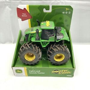 NEW Licensed John Deere Monster Treads Tractor with Lights and Sounds Modified