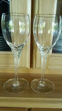 """Set of 2 Lenox Debut Collection """"Erin"""" 7 3/4"""" Wine Water Glasses"""