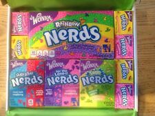 Wonka Rainbow Nerds Gift Box - American Retro USA Candy Sweets