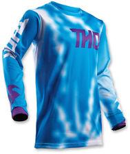 Thor Youth MX ATV Motocross Jersey S8Y Pulse Air Blue Medium
