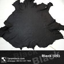 ostrich leather skin Black grade B 100% Genuine 15 Sqft
