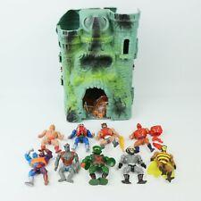 BIG Bundle of MOTU Masters of The Universe Figures x9 + Castle Grayskull Lot