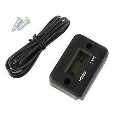 Motorcycle Bike Waterproof Tach Hour Meter Tachometer Digital LCD ATV
