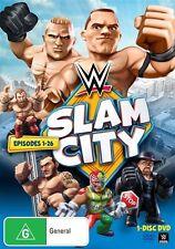 WWE - Slam City (DVD, 2014) - Region 4