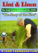 LINT & LINEN INDUSTRY ULSTER - NEW DVD - IRISH FARMING
