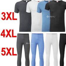 Cotton Blend Short Sleeve Set Underwear for Men