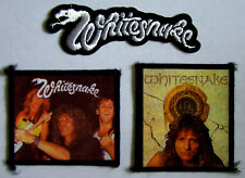 Whitesnake 3 Jacket Patch Set From The 80's