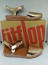 Authentic FitFlops #Cova Metallic Closed-Toe Sandal Size 5only