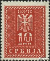 Serbia (German.cast.2.world.) P21 with hinge 1943 Postage stamps