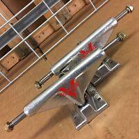 New Venture Polished High Silver Skateboard Trucks - 5.0 - (Set of 2)