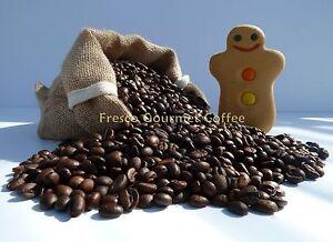Gingerbread Flavour Decaffeinated Coffee Beans 100% Arabica Bean/Ground Coffee