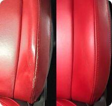 Set regeneriert Farbe Alfa ROT Farbe Leder Sitzwangen Mito Brera