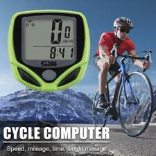 Luxe pour sans Fil Vélo Vélo Bicyclette Ordinateur Compteur Odomètre Imperméable