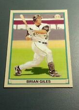 BRIAN GILES 2003 UPPER DECK PLAY BALL RED BACK CARD # 56 A2304