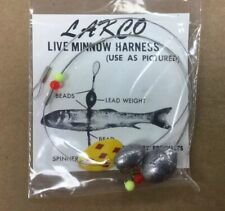 LAKCO Live Minnow Harness Bead Lead Weight Ice Spear Fishing