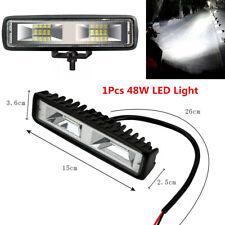 15cm 48W Car Driving Fog Lamp 16LED Spot Beam Bar Off Road Work Light UTE SUV
