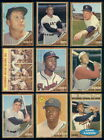 65132 1962 Topps Baseball Complete Set Aaron Berra Ford Mays Koufax Mantle