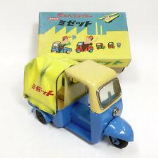 Nomura Toy vintage Daihatsu Midget Tin car 1950's original w/ rare box Japanese