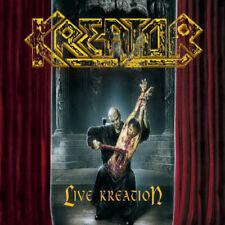 KREATOR - Live Kreation 3 x LP Yellow Colored Vinyl +Live Bonus CD Thrash Metal