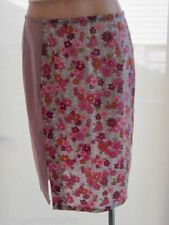 Straight, Pencil Machine Washable Knee-Length Floral Skirts for Women
