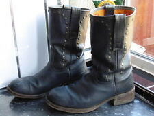 MEN'S NAVY BLUE MARLBORO CLASSICS MEXICO BOOTS SIZE 44  UK 9.5
