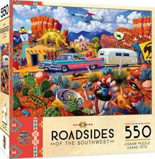 Off The Beaten Path - Roadsides of The Southwest 550 Piece Jigsaw Puzzle