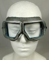 Genuine Russian Soviet Vintage Motorcycle Flying Aviator Tank Goggles WWII Type