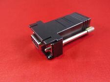 Cisco RJ45 to DB9 Female Adapter, Console, PC Serial, Black.