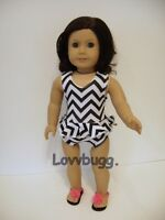 "Blue Metallic Shiny Swim Suit for American Girl 18/"" Doll Clothes LOVV LOVVBUGG!"