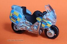2013 Matchbox Loose BMW R1200 RT Police Motorcycle Gray Combine Shipping